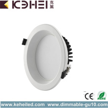 18 Watt Dimmable Downlight Black White Silver
