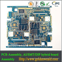Выполненный на заказ PCB с ISO9001, FCC, стандарту EC и требованиям для продуктов Едока электронных вамо платы