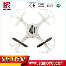 Mini RC Helicóptero 13CM Mini Dron FY530 Cardán de control remoto RC Helicóptero Quadcopter Drone Quadcopter