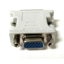 Best Buy Beige 24+5 DVI MALE TO VGA FEMALE DVI TO VGA ADAPTER