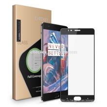 2.5D шелкография 9h закаленное стекло-экран протектор для мобильного OnePlus 5