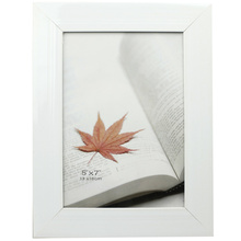 White 5x7 inch PVC Photo Frame