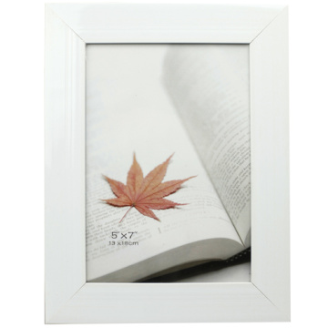 Weiß 5 x 7 Zoll PVC-Foto-Rahmen