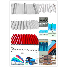 Corrugated Aluminum Roofing Sheet for Africa Market