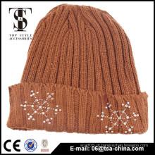 100% acrílico Material chapéu de beanie engraçado de alta qualidade