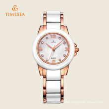 White Ceramic Quartz Fashion Wrist Watch 71123