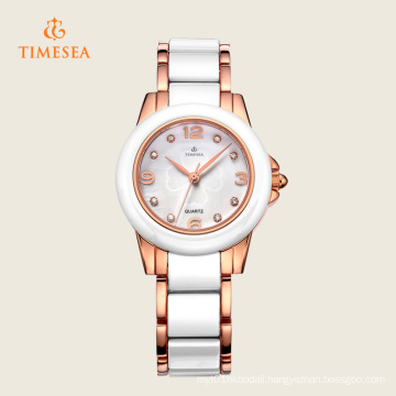 White Ceramic Quartz Fashion Wrist Watch 71123
