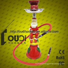 Black high quality New design hookah shisha 1hoses shisha wholesale hookah