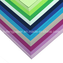Excelente papel de cor de celulose virgem de madeira 300g