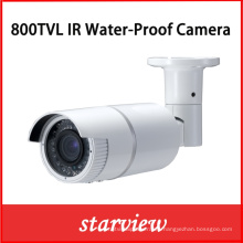 800tvl impermeable IR CCTV cámara de seguridad de la bala (W24)