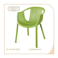 wholesale party events rented plastic arm chair made in china