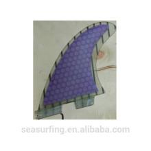 palmes de longboard vente chaude FCS II base palmes de carbone G5 pour surf
