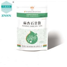 Chinesisches Kräutermedikament Maxingshigan Pulver für veterinärmedizinische Zwecke