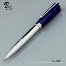 Высококачественная металлическая рекламная шариковая ручка для делового подарка