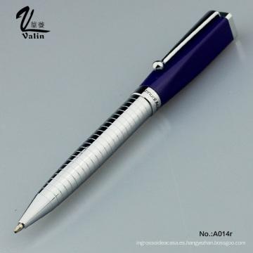 Bolígrafo promocional de metal de gama alta para regalo de negocios