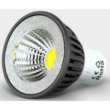 220 В GU10 5 Вт яркий cob светодиодные пятно освещения