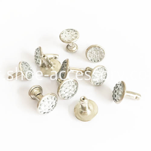 9mm long leg diamond rivets