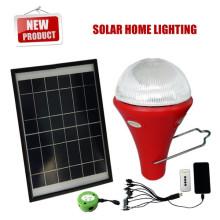 luces del sistema de venta por mayor iluminación de casa solar, solar para uso en interiores, mini kits de luz solares