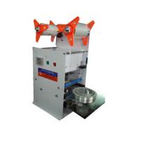 Para el fabricante plástico de China de la máquina del lacre de la taza