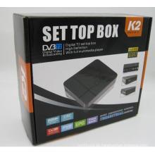 Hochwertiger HD neuer DVB-T2 Digitaler terrestrischer Empfänger Fernsehempfänger DVB T2 Tuner Singapur, Malaysia, Russland, Israel