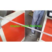 Manguera reforzada de PVC, máquina flexible de extrusión de manguera de PVC