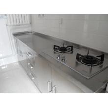 Placa de aço inoxidável para cozinha