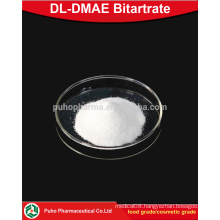 top purity DL-DMAE Bitartrate powder cosmetic grade/food grade