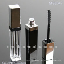 MS8042 Quadratische Plastik klar Wimperntusche Rohr