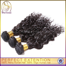 Nice looking black malaysian water wave virgin asian remy hair