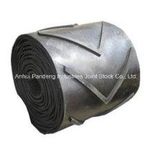 Cema / DIN / ASTM / Sha-Standard-industrieller großer Winkel kopierte gerippte Chevron-Förderband