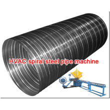 Máquina de tubos de aço espiral HVAC