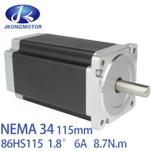 86byg NEMA 34 Stepper Motor 8.5nm 6A Jk86HS115-6004 Stepper Motor with Driver Jkd2060h