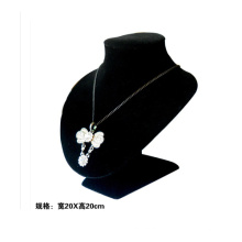 Portable Black Velvet Jewelry Display Bust Wholesale (NS-BKV-S)