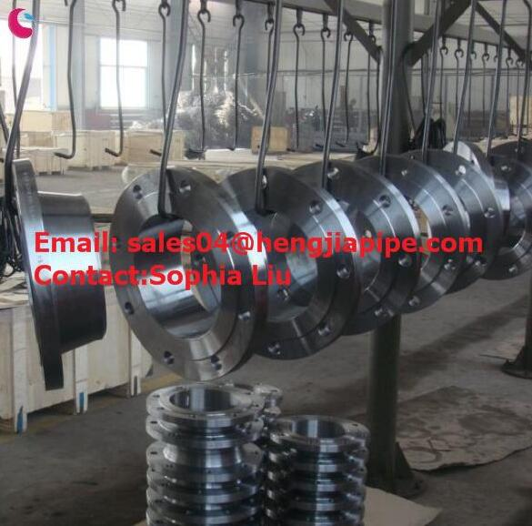 ANSI forged WN flange