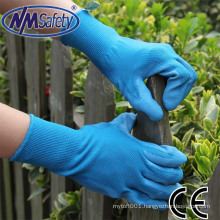 NMSAFETY pu industrial rubber gloves