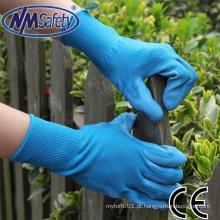 Luvas de borracha industrial do plutônio de NMSAFETY