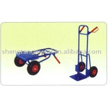 Telescopic frame and foldable toe hand trolley HT1426