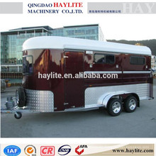 flotador de caballos nuevo remolque de caballos HLT