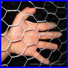 Heiß billig !!! Galvanisiertes oder PVC-beschichtetes Sechskant-Drahtgeflecht