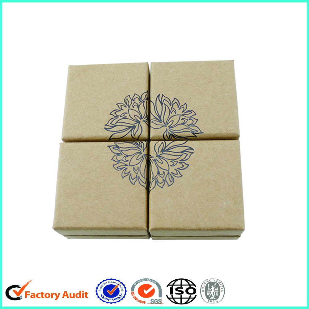 Customized Kraft Paper Cardboard Jewellery Packaging Box