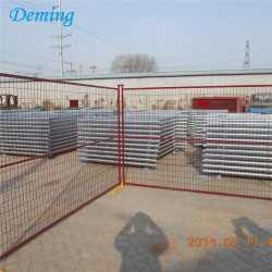 temporary security fence