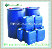 phosphoric acid 85 food grade prices in China