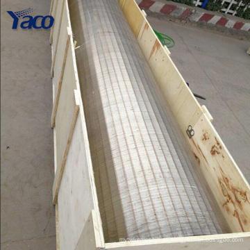 aço inoxidável fio de cunha soldada johnson tela cesta tubos fabricação de fábrica