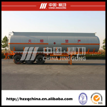 Venda quente de semi-reboque do caminhão de tanque criogênico de GNL