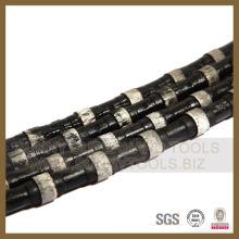 Cable de sierra de alambre de diamante para hormigón y hormigón armado