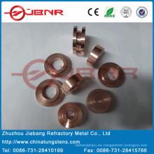 Wolfram W70cu30 contacto con ISO9001 de Jbnr de cobre