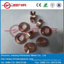 Wolfram Copper Contact W70cu30 with ISO9001 From Jbnr