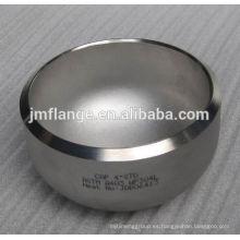 ASTM 403 Tapa de acero inoxidable de soldadura a tope de 1/4 '' - 36 ''