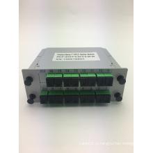 SC / APC 1 * 16 Вставной тип PLC Splitter