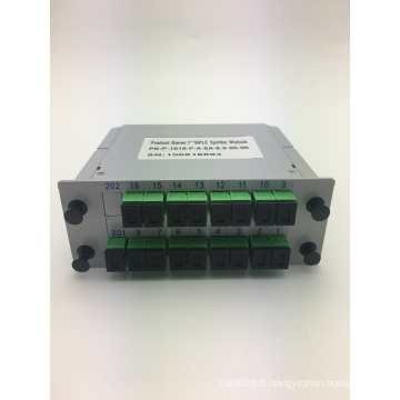 Répartiteur PLC à insertion de type SC / APC 1 * 16